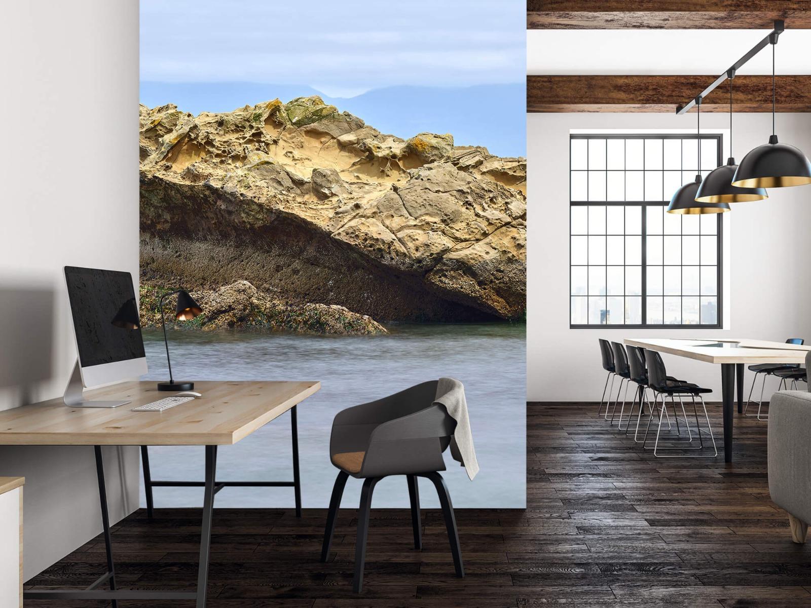 Zeeën en Oceanen - Mooie rots aan de kust - Wallexclusive - Woonkamer 22
