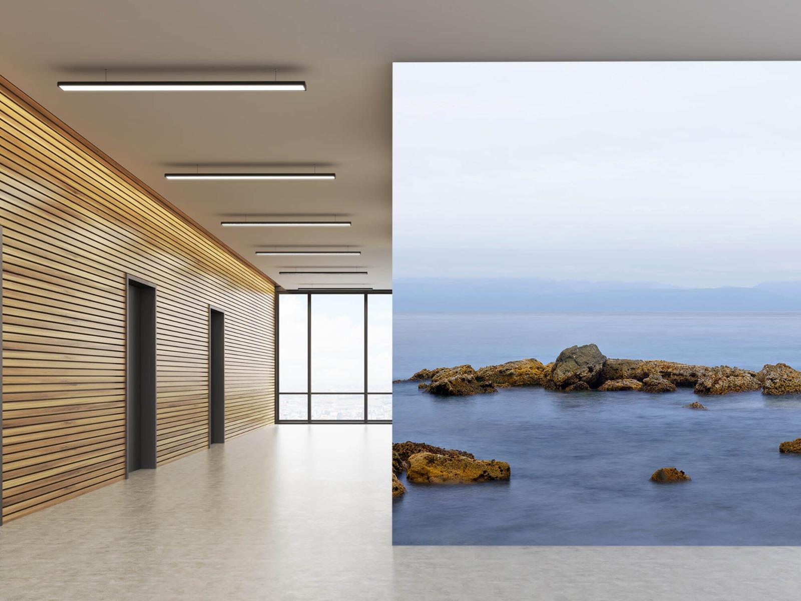 Zeeën en Oceanen - Groep rotsen - Wallexclusive - Woonkamer 5