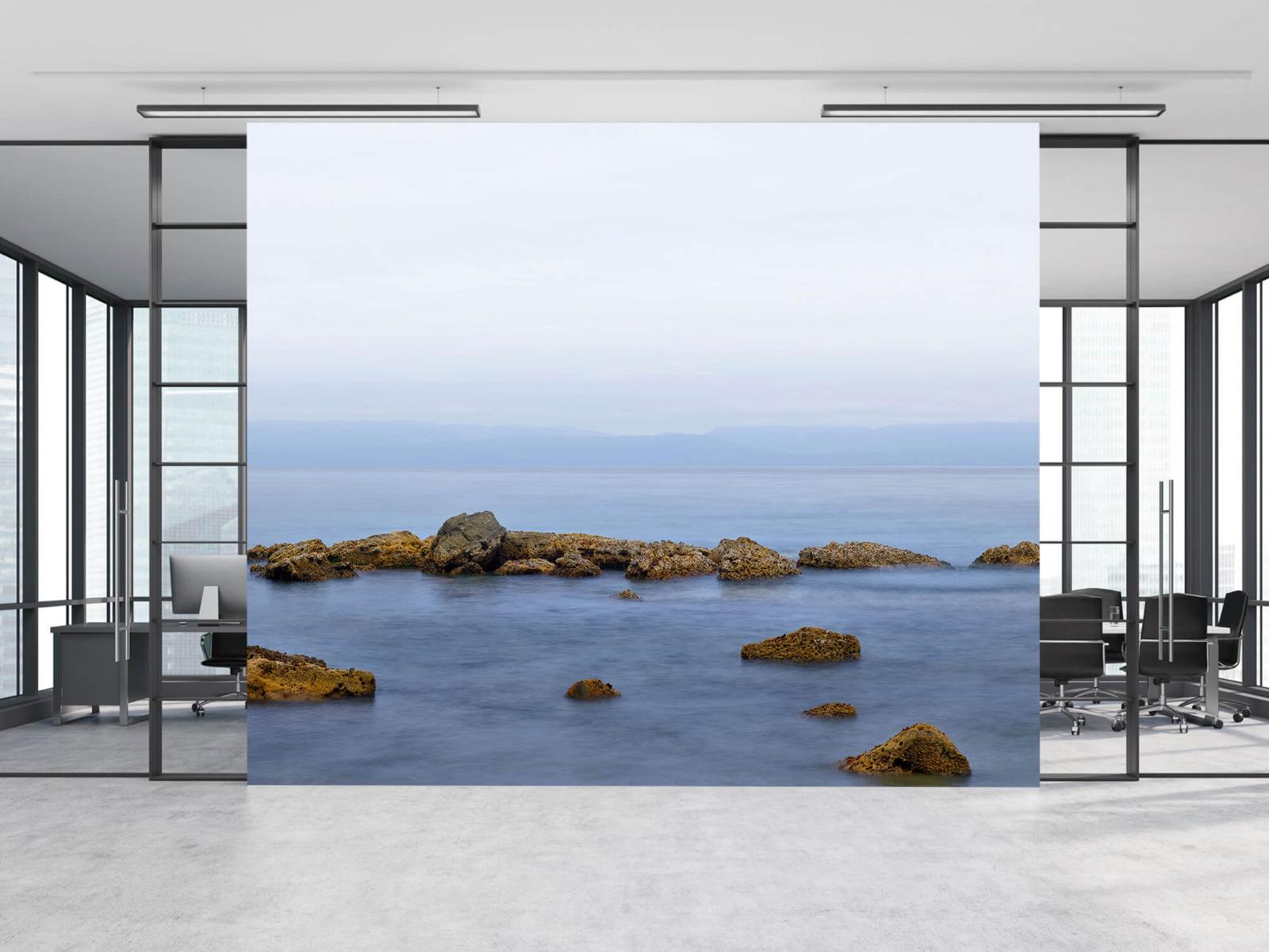Zeeën en Oceanen - Groep rotsen - Wallexclusive - Woonkamer 8