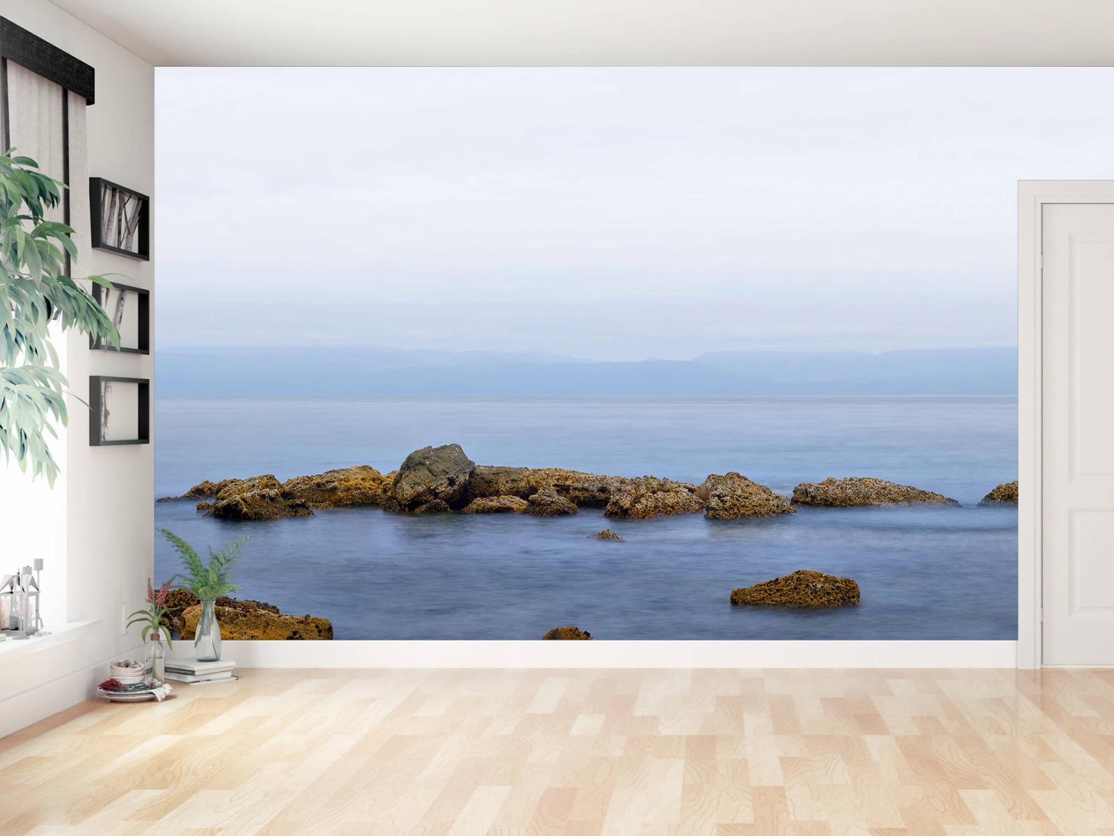 Zeeën en Oceanen - Groep rotsen - Wallexclusive - Woonkamer 11