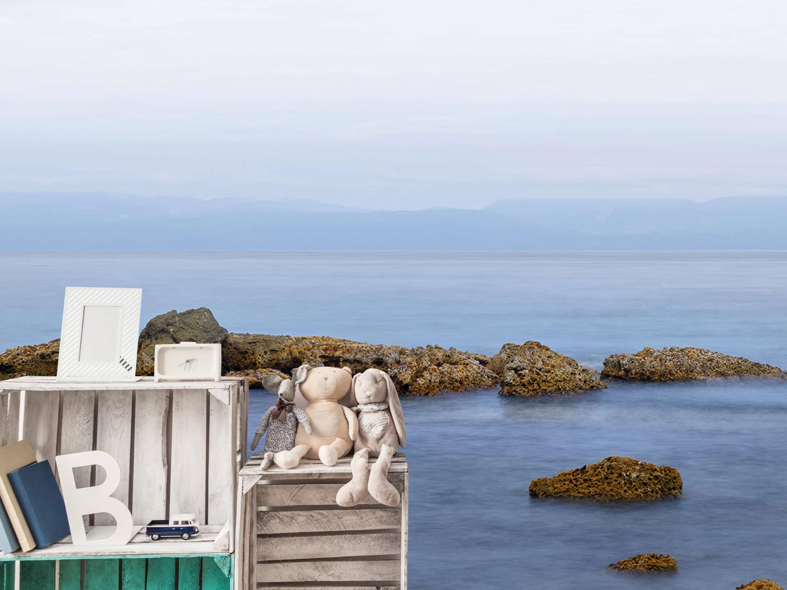 Zeeën en Oceanen - Groep rotsen - Wallexclusive - Woonkamer 19