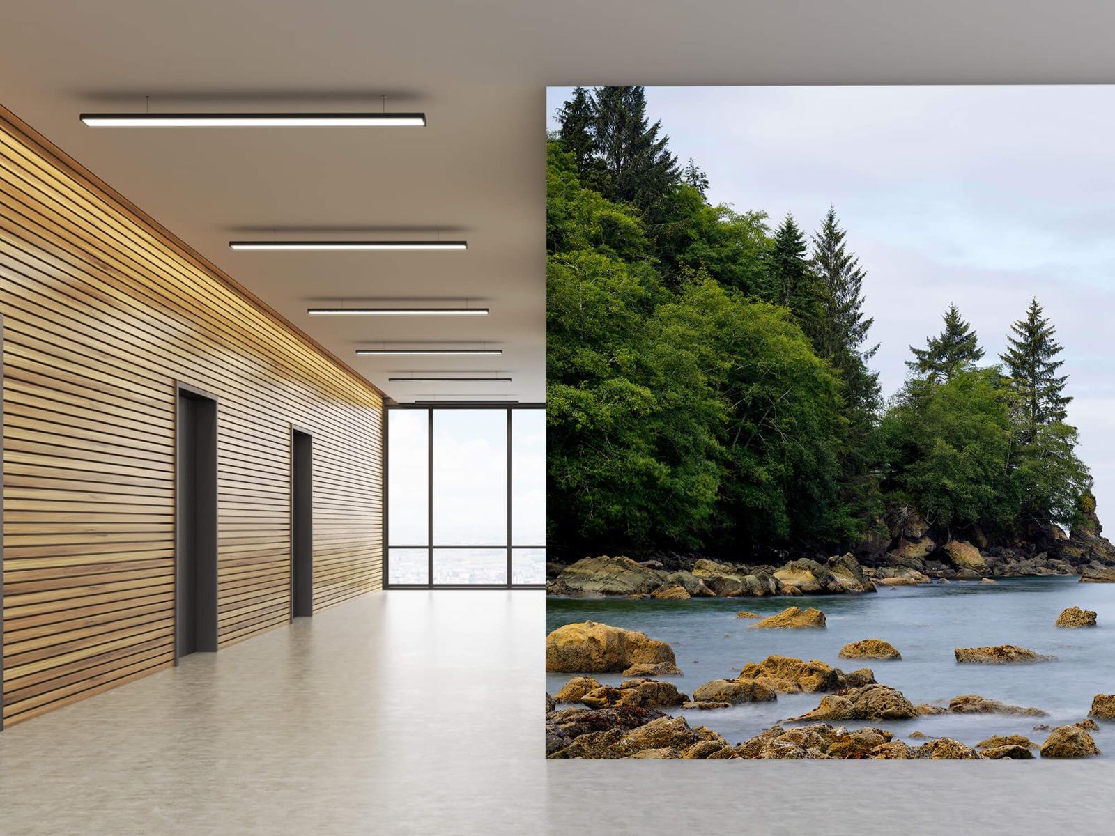 Bomen - Ruwe kustlijn - Slaapkamer 6