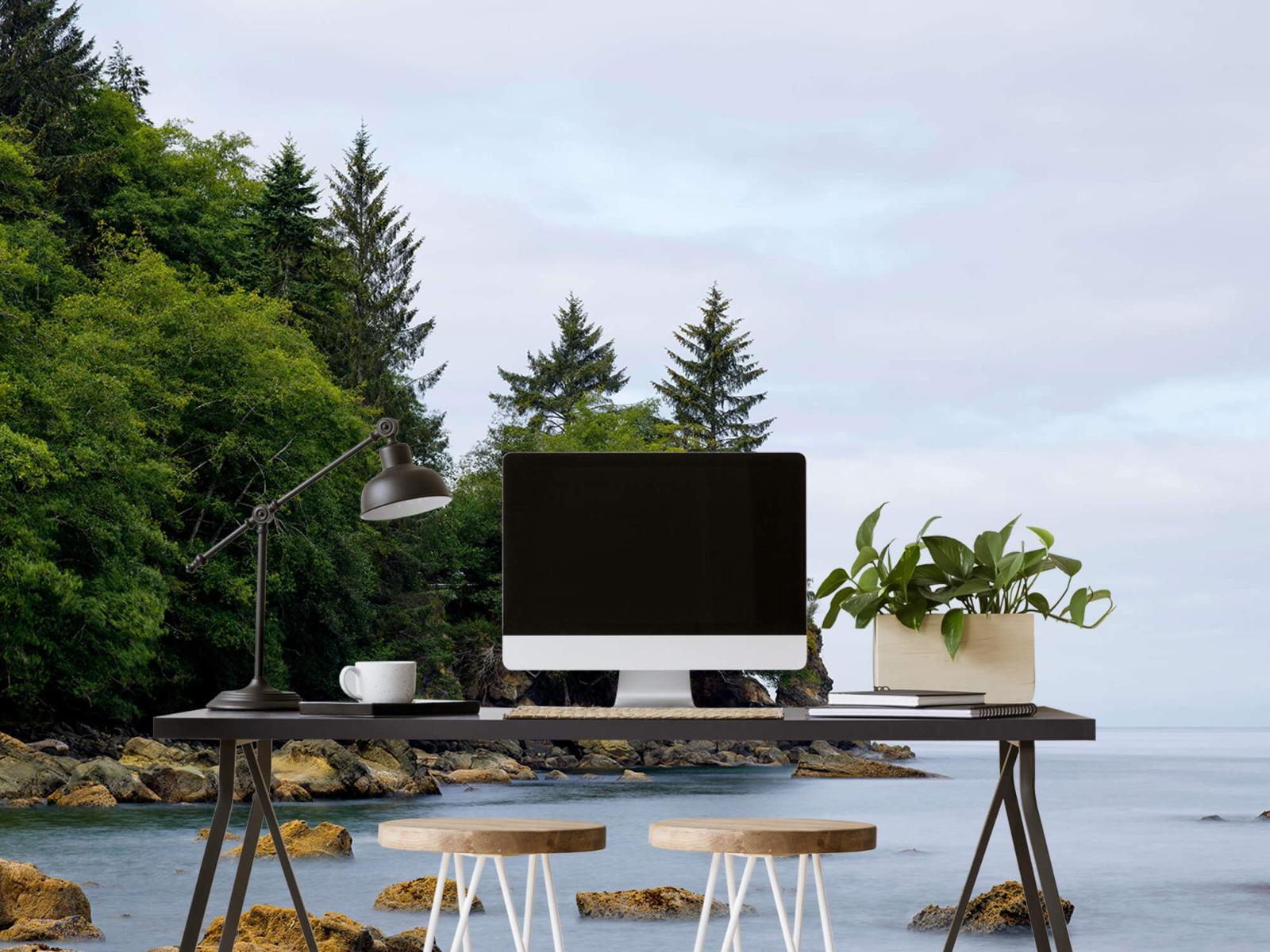 Bomen - Ruwe kustlijn - Slaapkamer 2