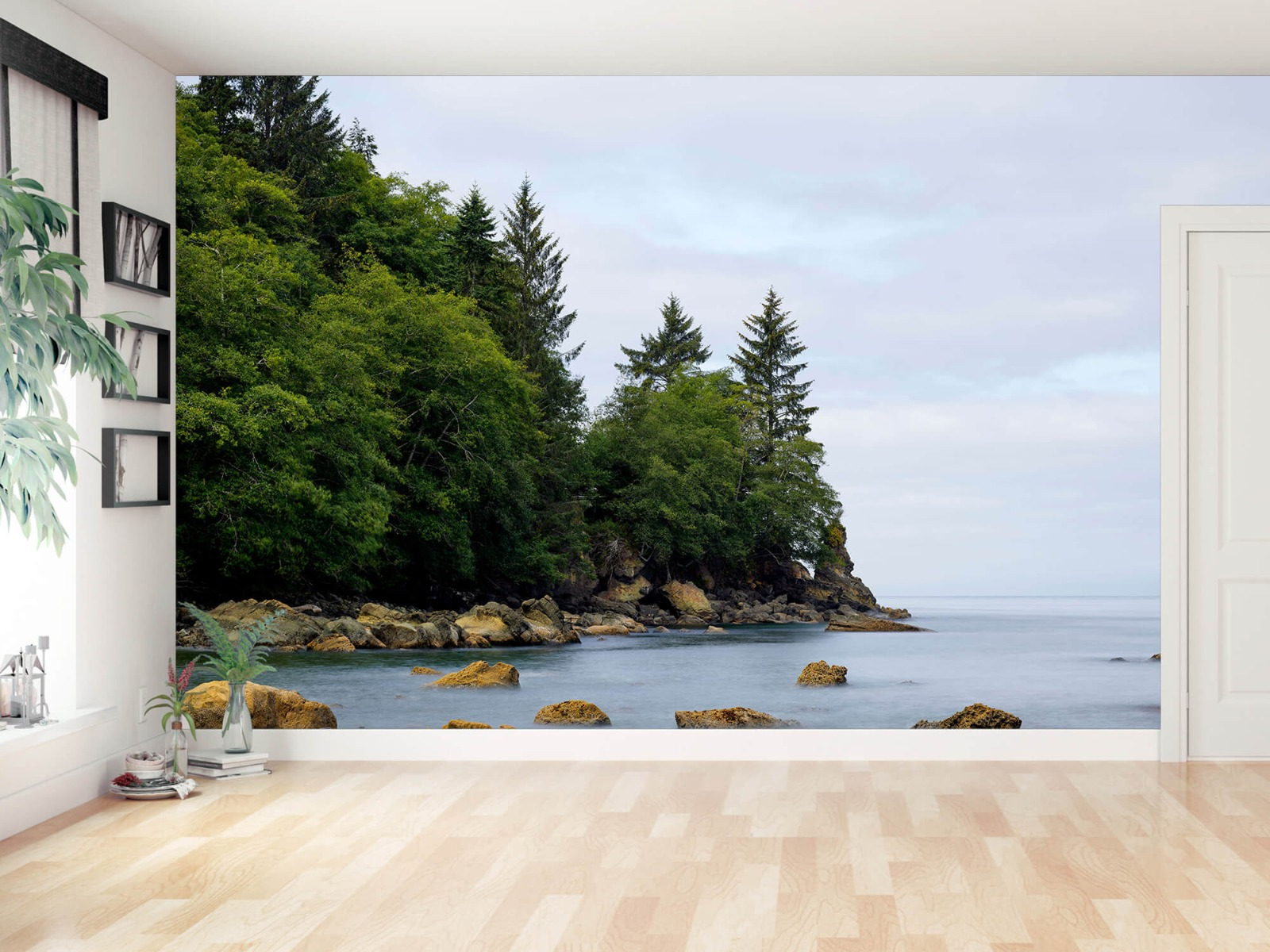 Bomen - Ruwe kustlijn - Slaapkamer 14