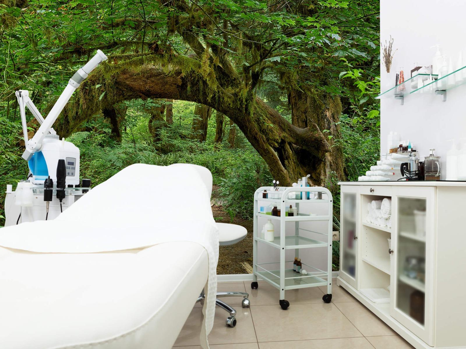 Bos behang - Boom in een boog - Slaapkamer 10