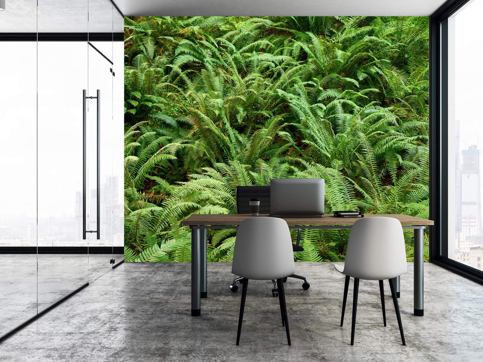 Bladeren - Groene varens - Slaapkamer 16