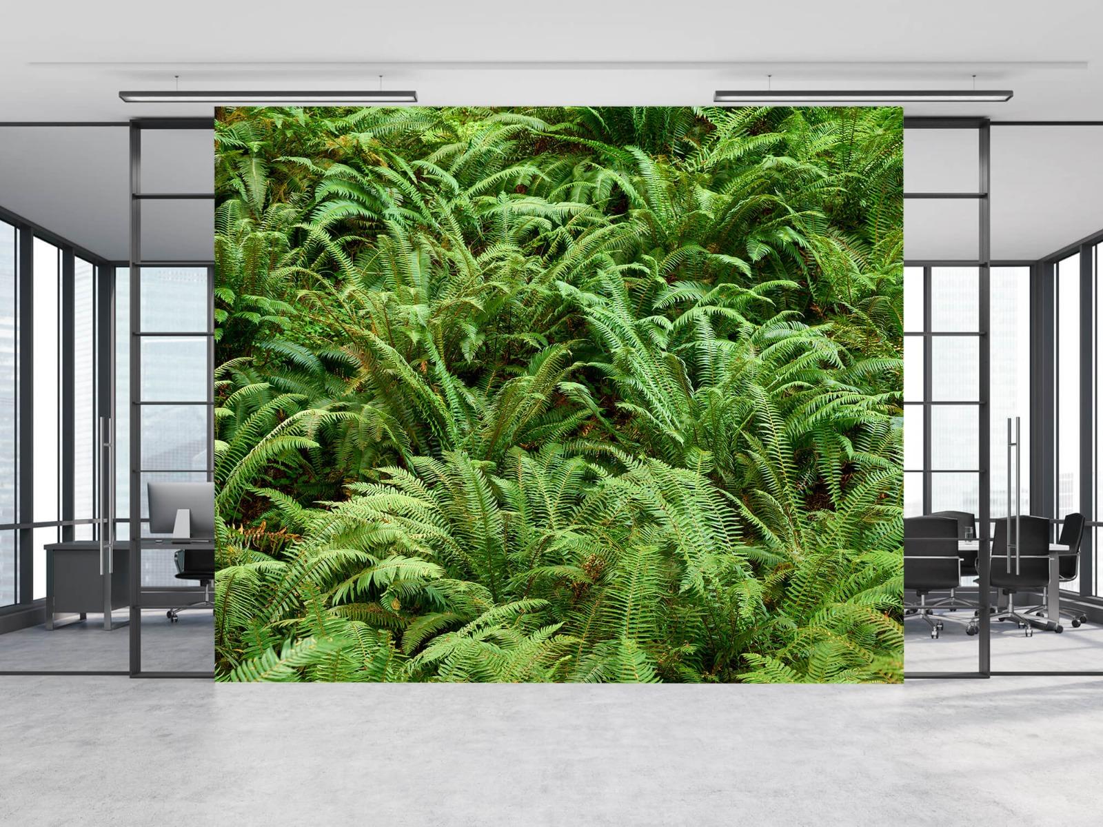 Bladeren - Groene varens - Slaapkamer 2