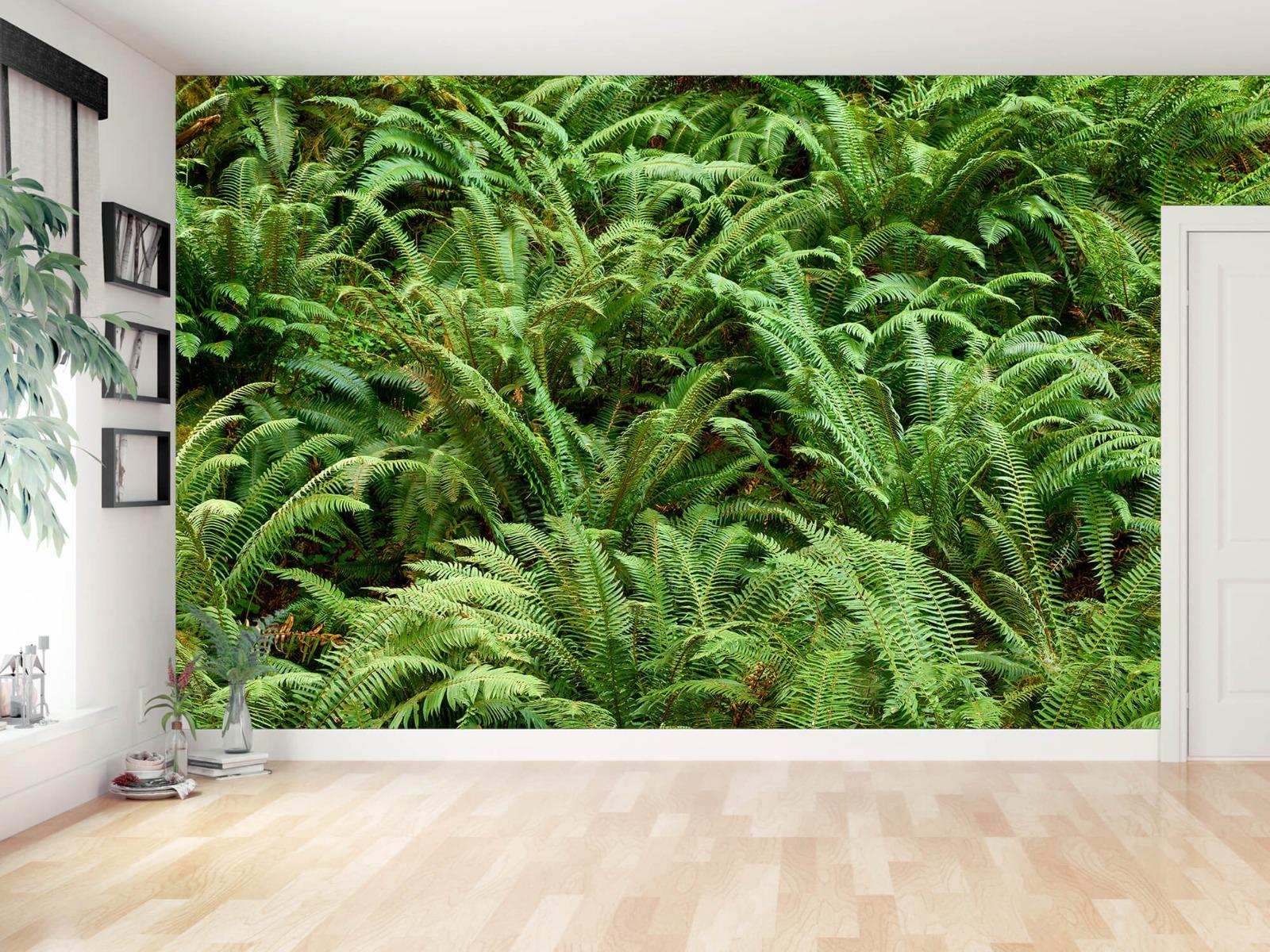 Bladeren - Groene varens - Slaapkamer 10