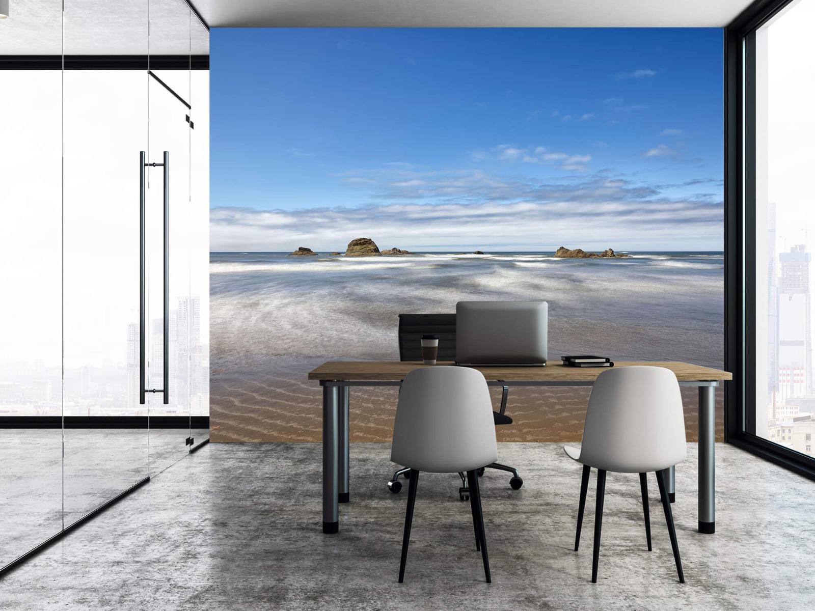 Zeeën en Oceanen - Strand met rotsen - Slaapkamer 7