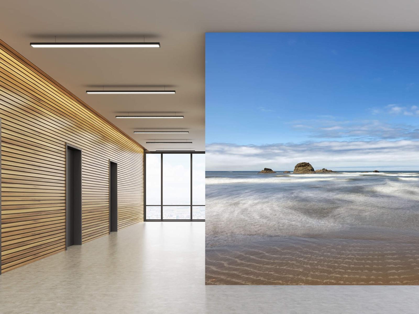 Zeeën en Oceanen - Strand met rotsen - Slaapkamer 9