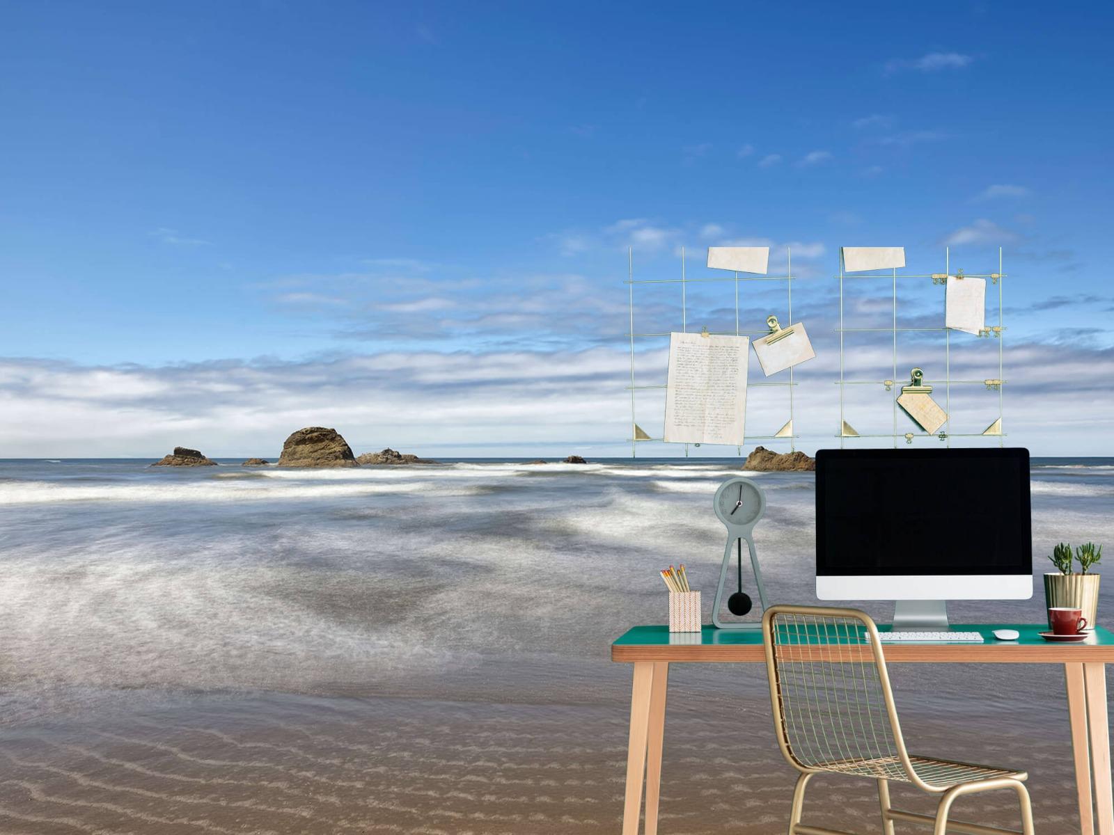 Zeeën en Oceanen - Strand met rotsen - Slaapkamer 11