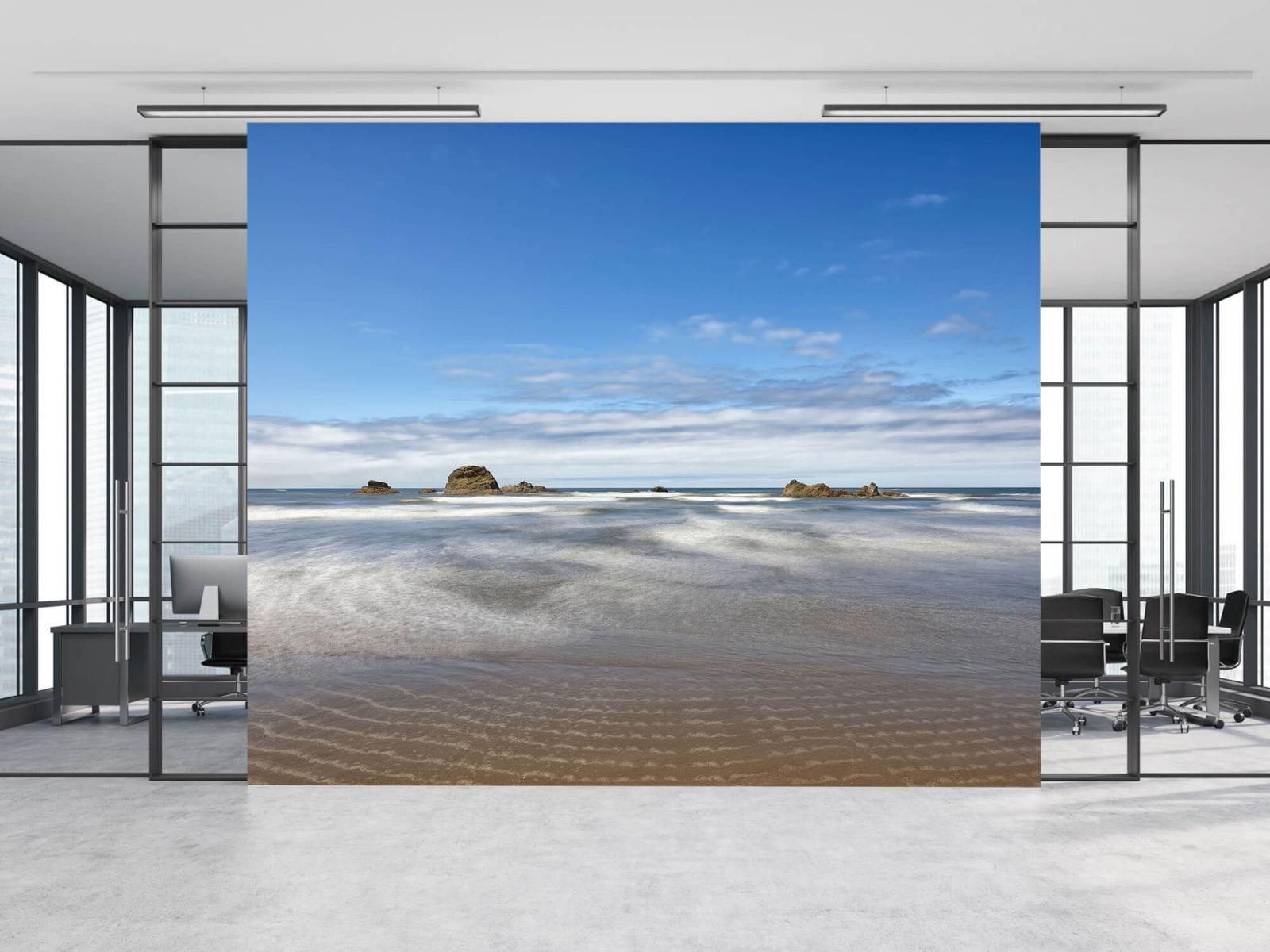 Zeeën en Oceanen - Strand met rotsen - Slaapkamer 12