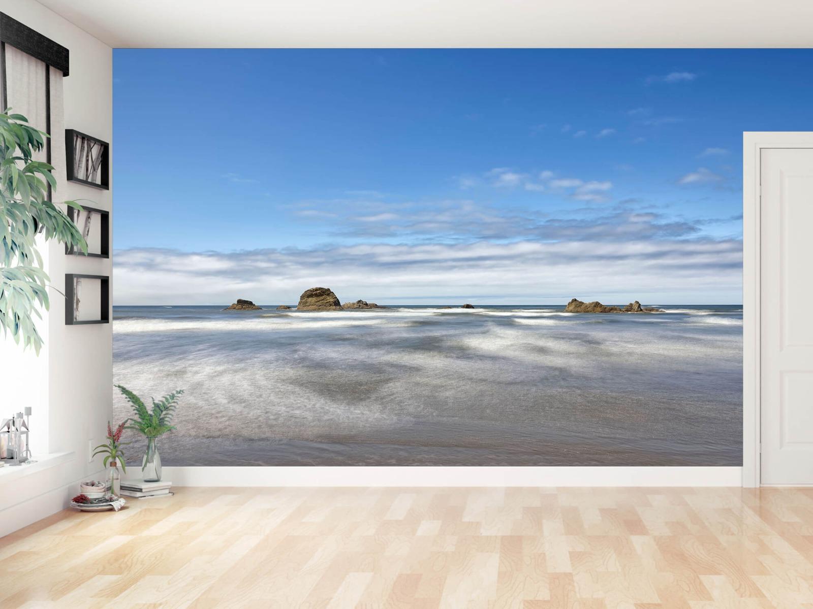 Zeeën en Oceanen - Strand met rotsen - Slaapkamer 15