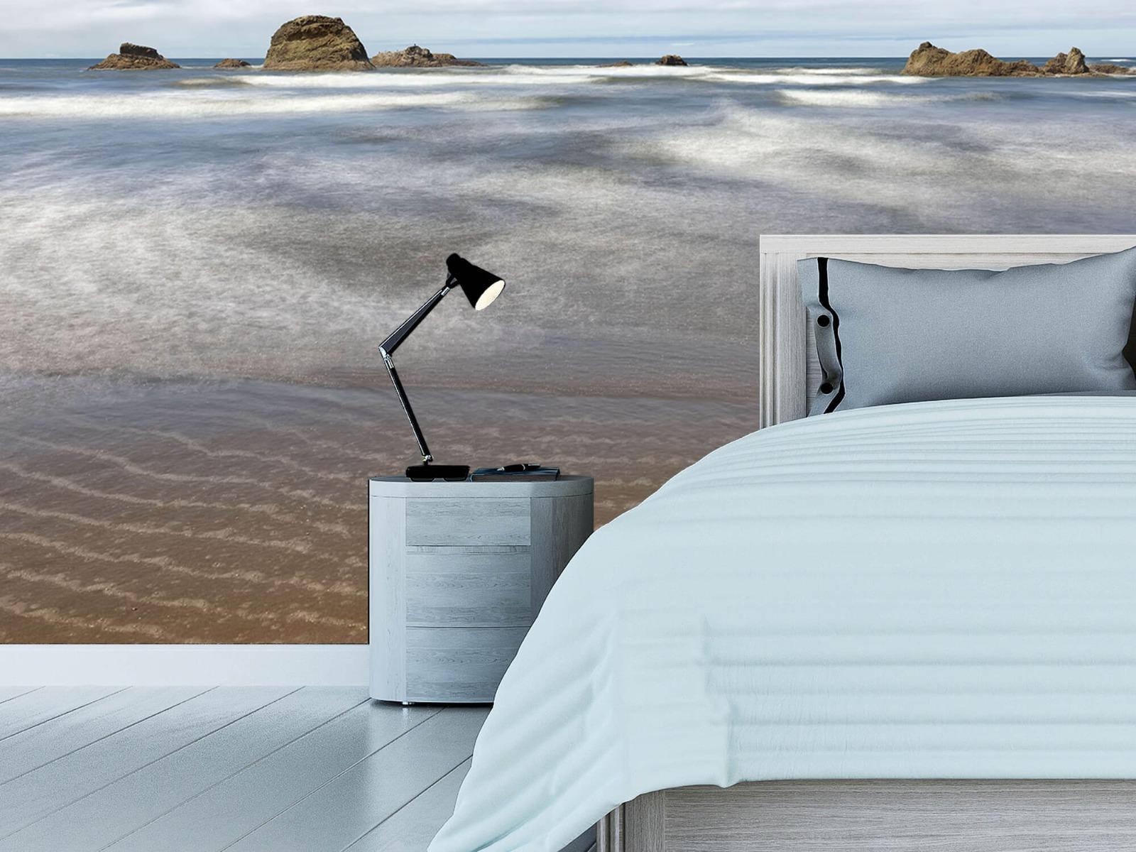 Zeeën en Oceanen - Strand met rotsen - Slaapkamer 16