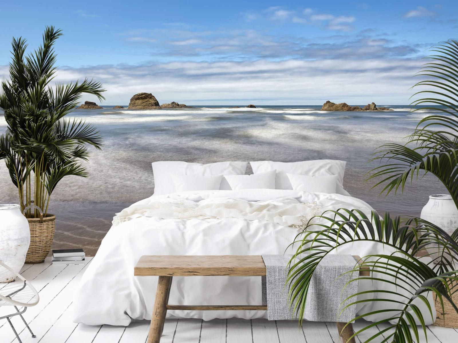 Zeeën en Oceanen - Strand met rotsen - Slaapkamer 2