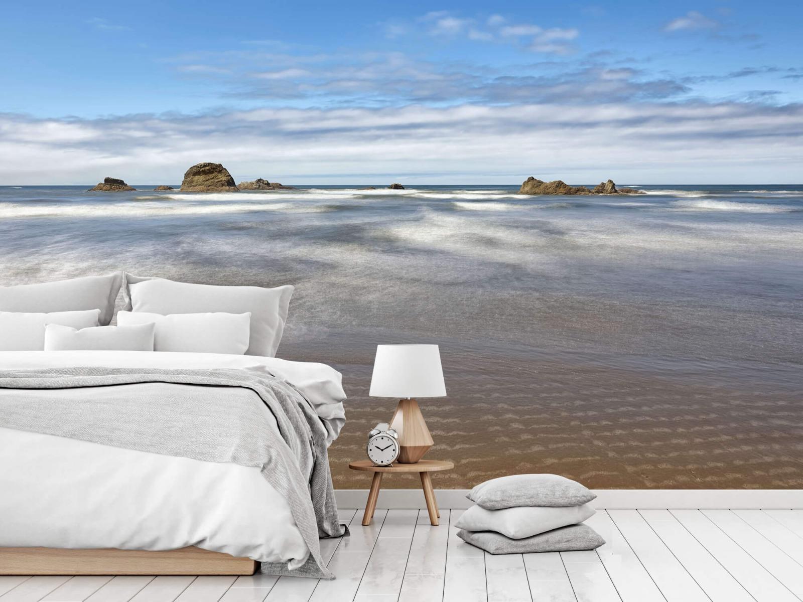 Zeeën en Oceanen - Strand met rotsen - Slaapkamer 17
