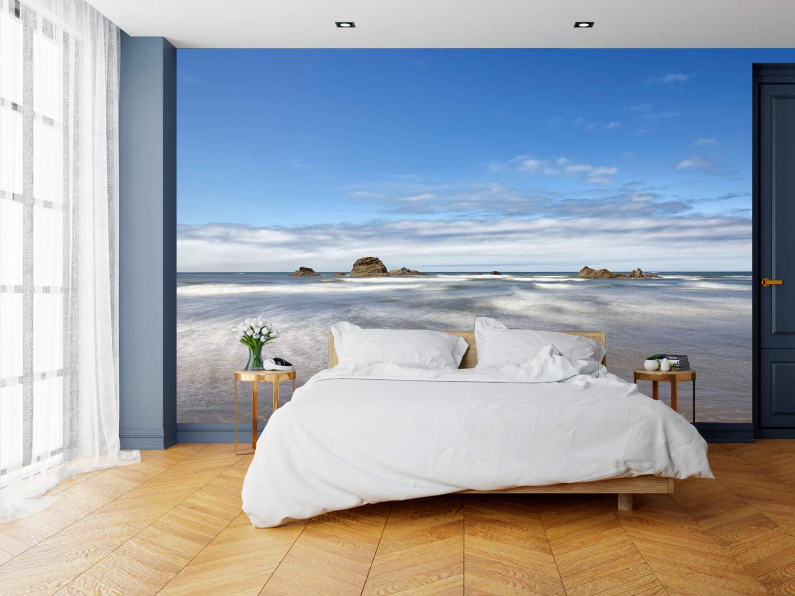 Zeeën en Oceanen - Strand met rotsen - Slaapkamer 18