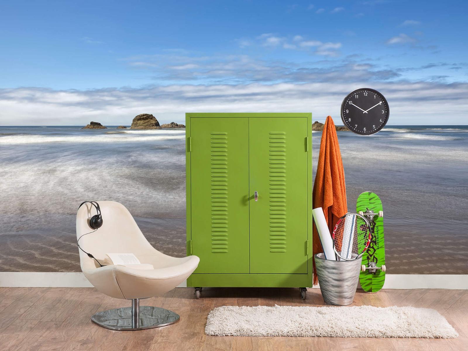 Zeeën en Oceanen - Strand met rotsen - Slaapkamer 20