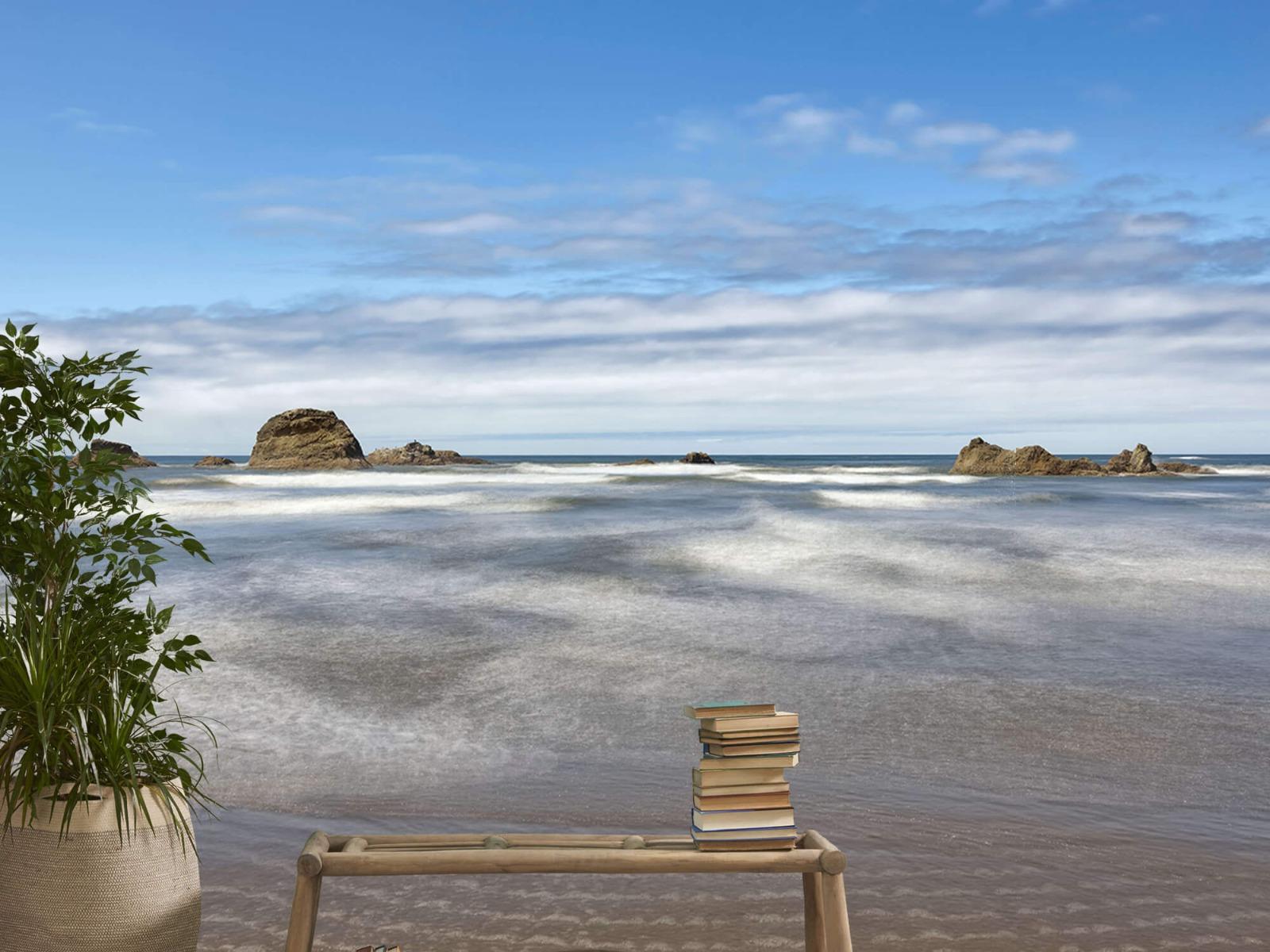 Zeeën en Oceanen - Strand met rotsen - Slaapkamer 1