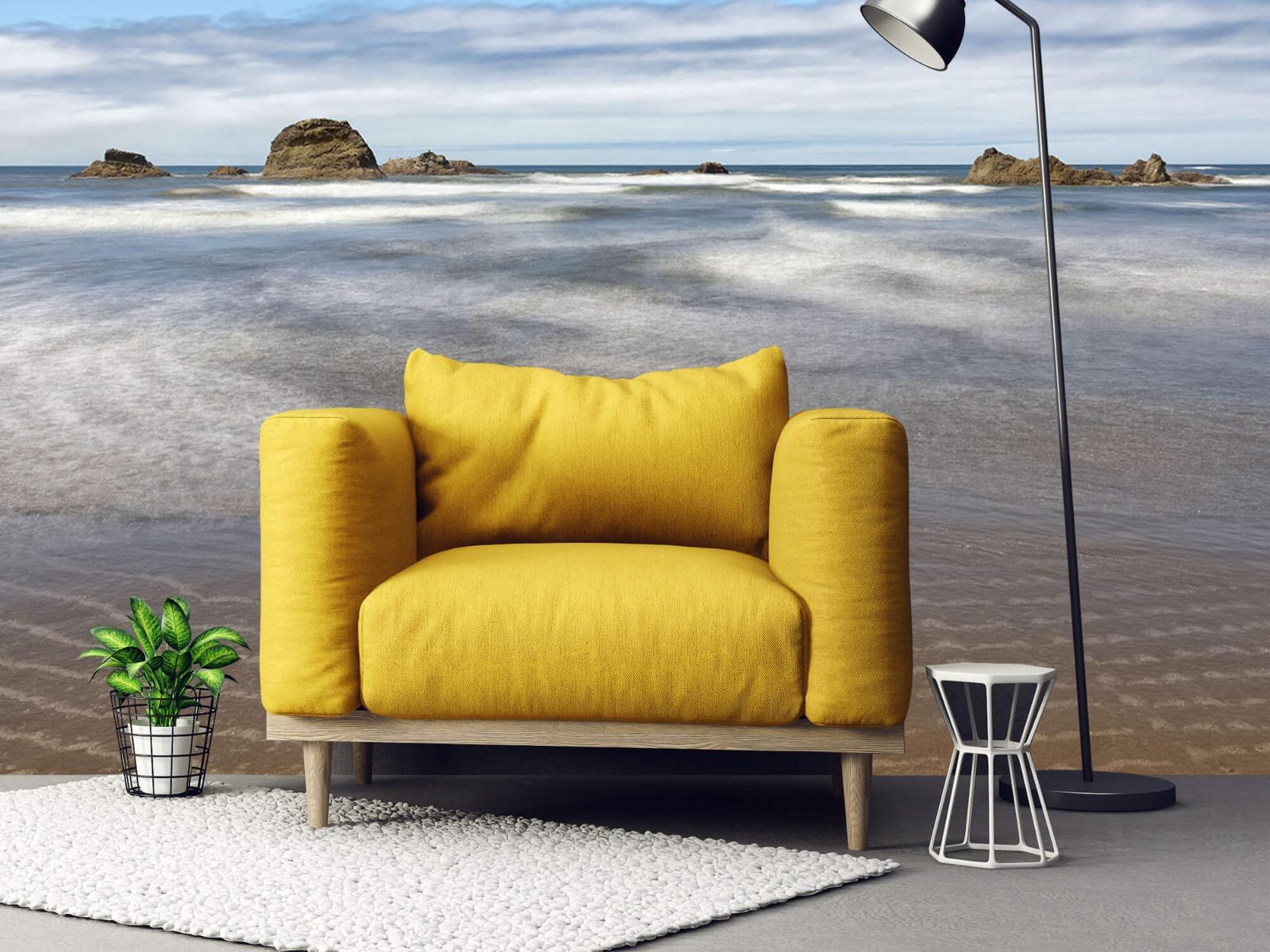 Zeeën en Oceanen - Strand met rotsen - Slaapkamer 22