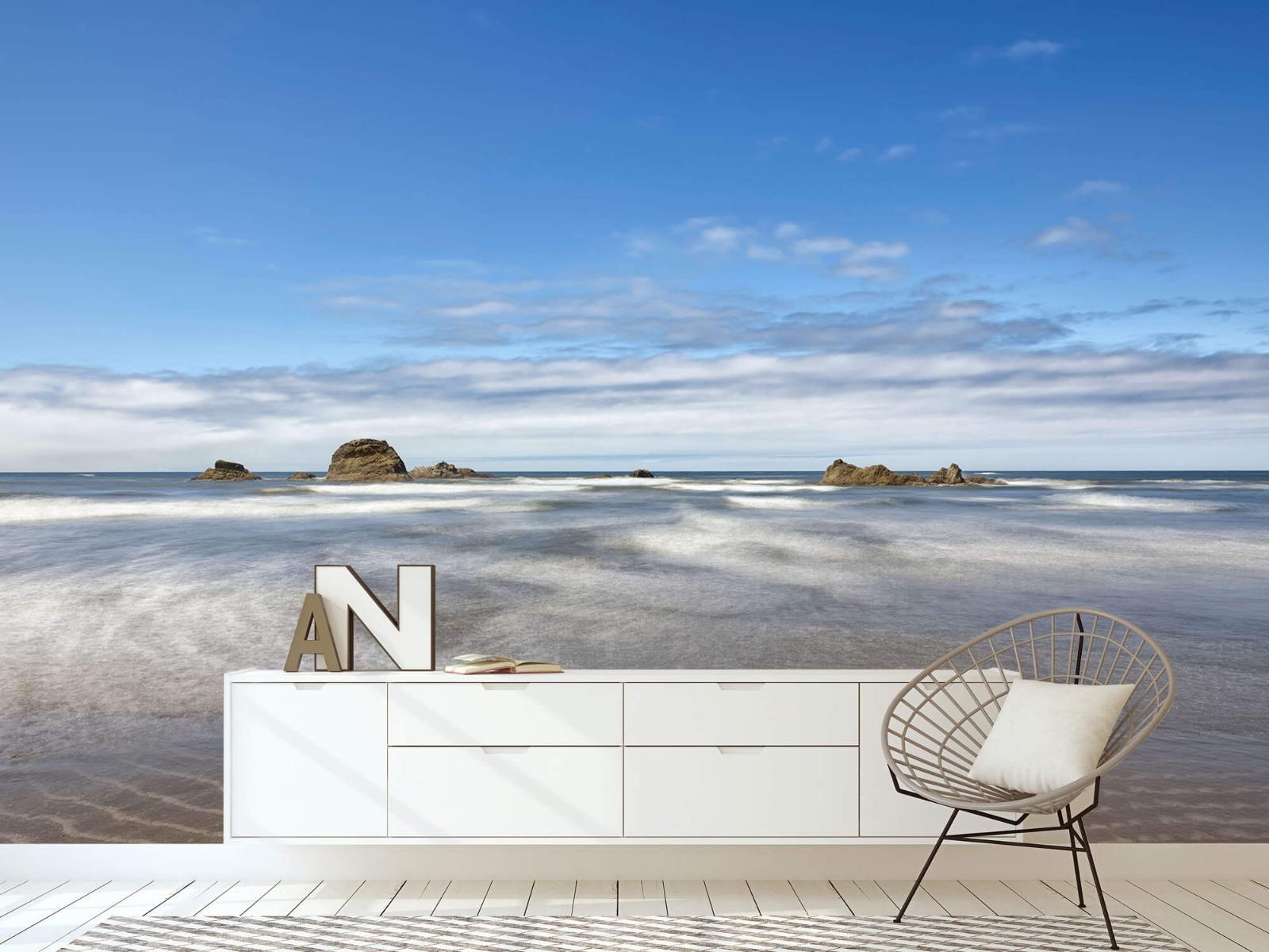 Zeeën en Oceanen - Strand met rotsen - Slaapkamer 4