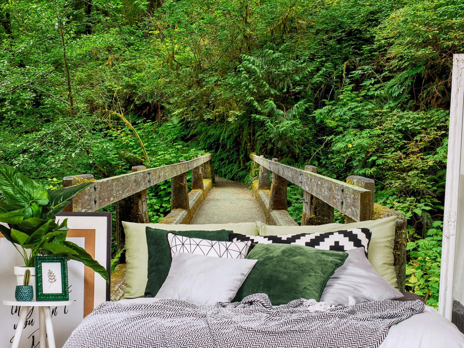 Bomen - Brug in het bos - Slaapkamer 2