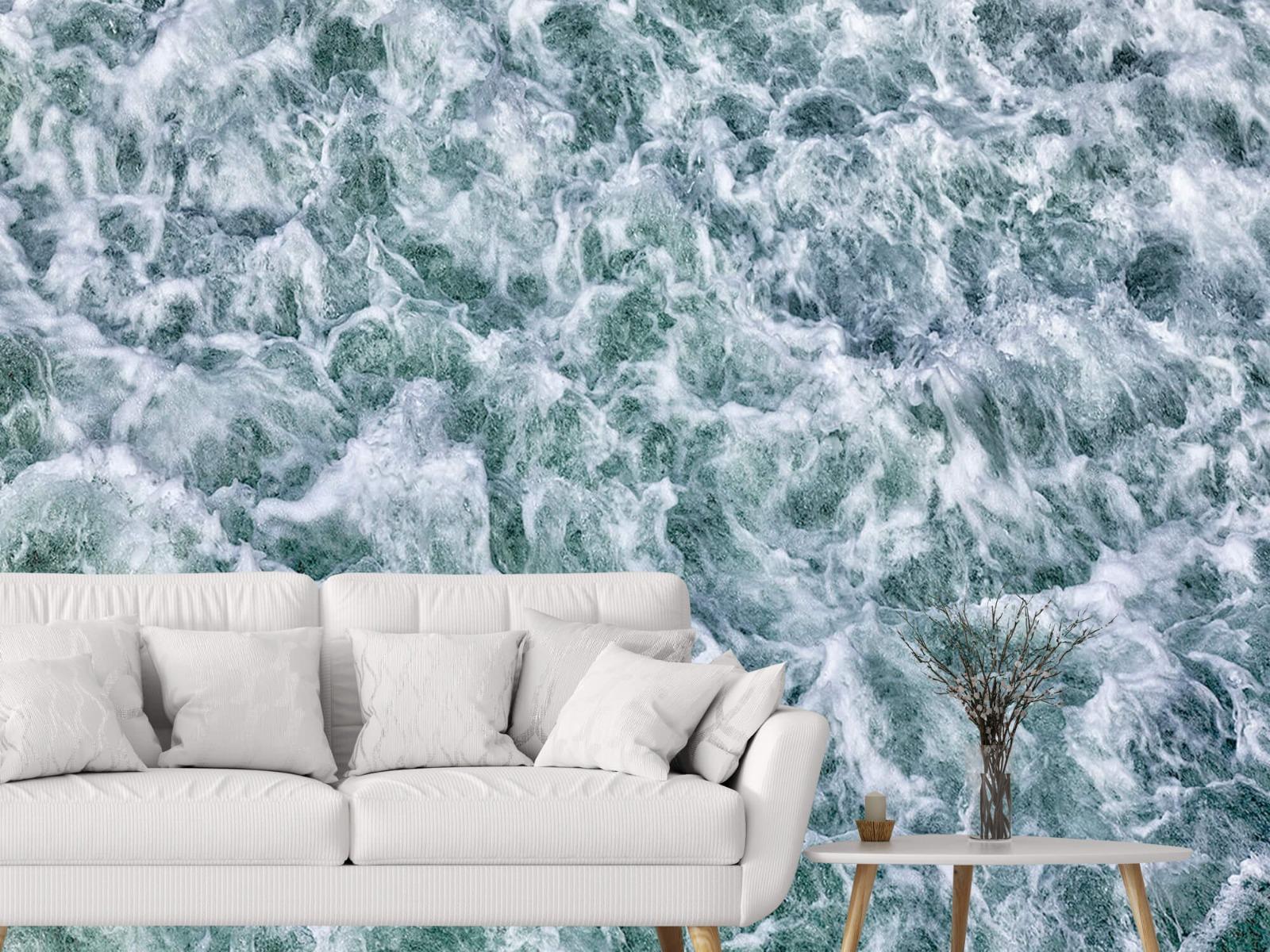 Zeeën en Oceanen - Wild kolkend water - Keuken 6