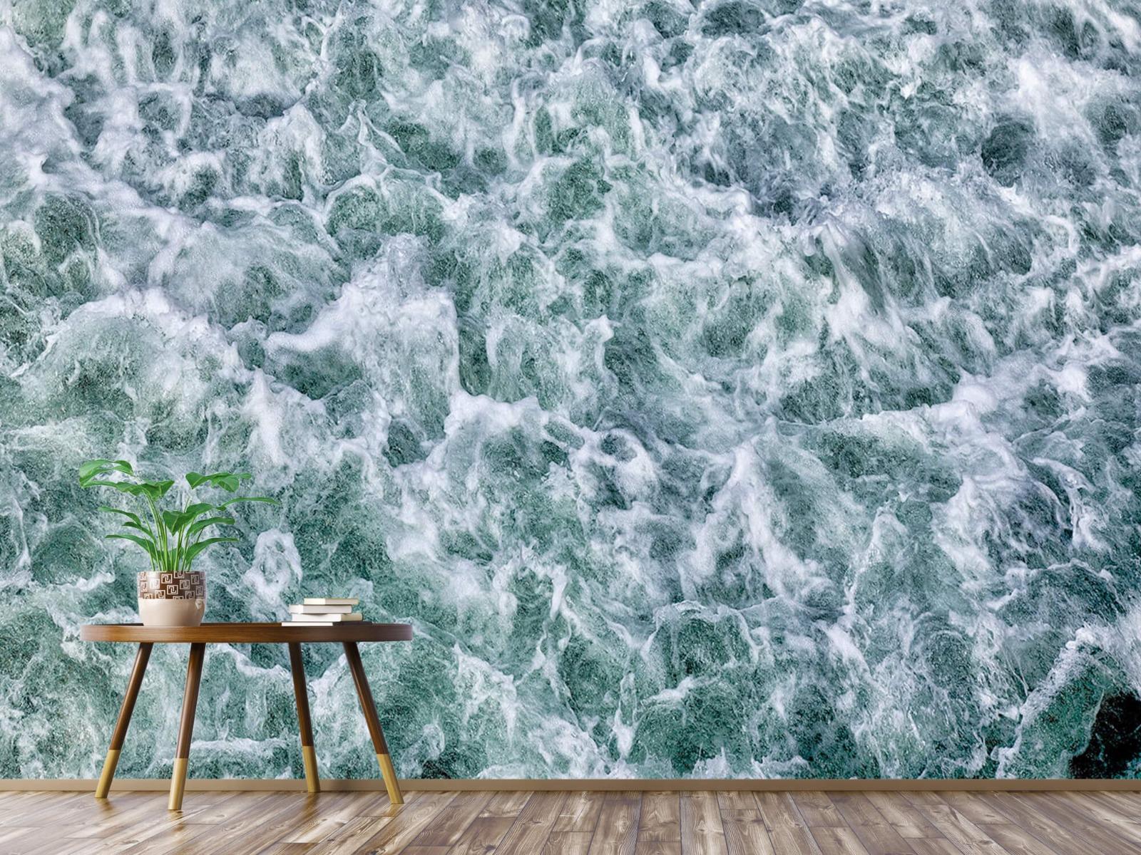 Zeeën en Oceanen - Wild kolkend water - Keuken 1