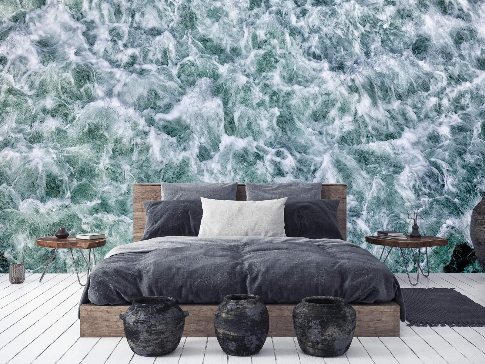 Zeeën en Oceanen - Wild kolkend water - Keuken 2