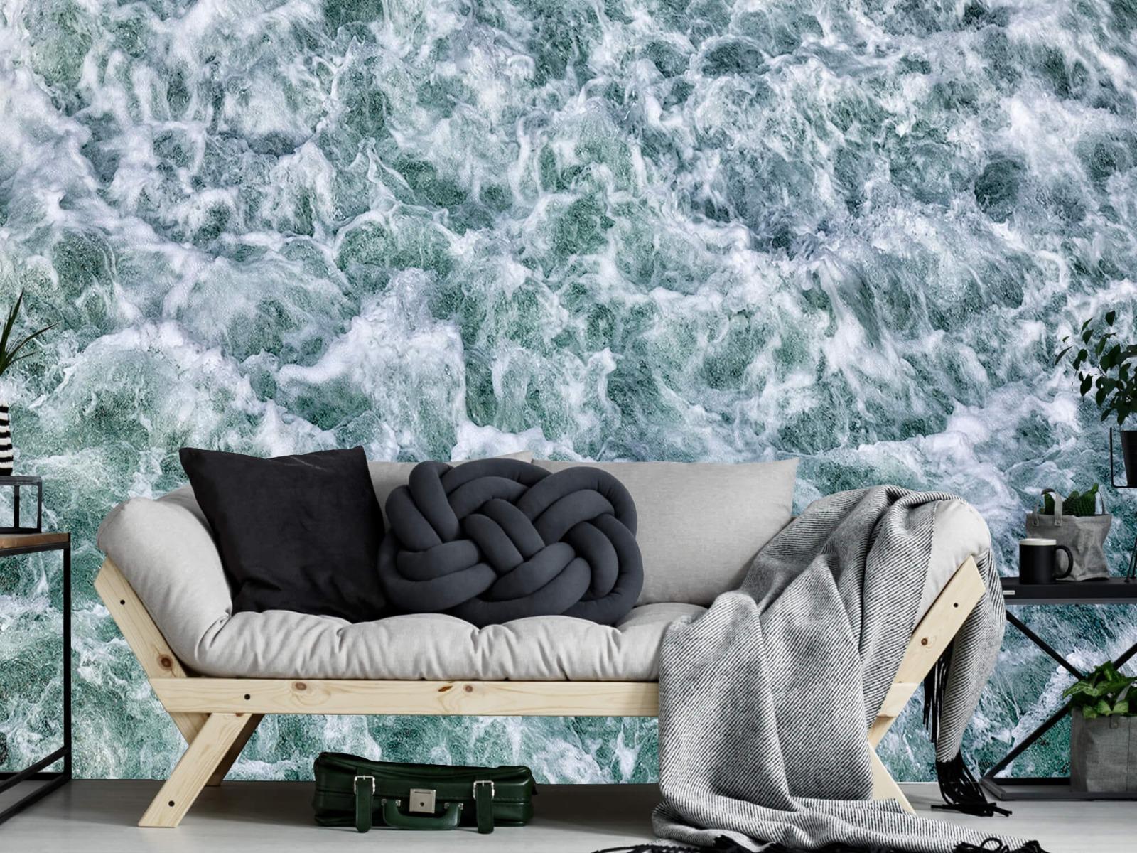 Zeeën en Oceanen - Wild kolkend water - Keuken 8