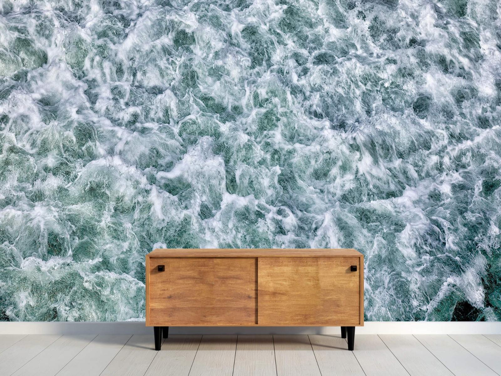 Zeeën en Oceanen - Wild kolkend water - Keuken 10