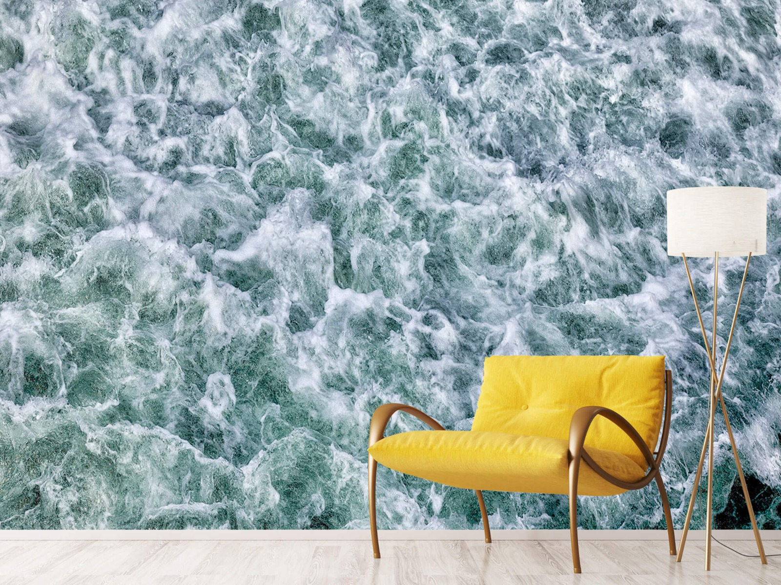 Zeeën en Oceanen - Wild kolkend water - Keuken 11