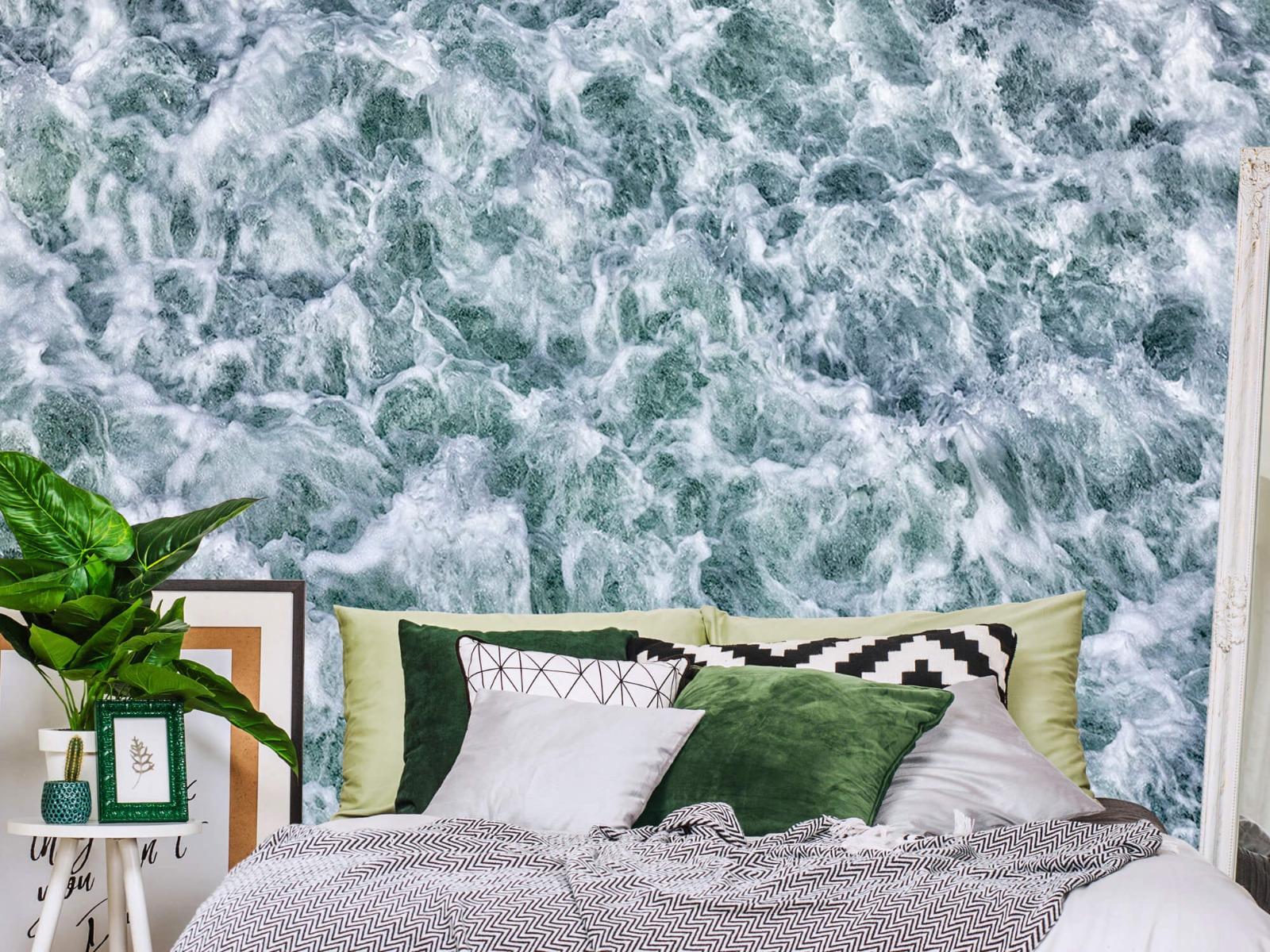 Zeeën en Oceanen - Wild kolkend water - Keuken 12