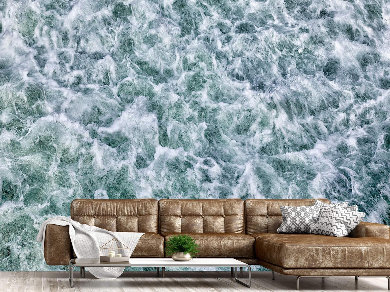 Zeeën en Oceanen - Wild kolkend water - Keuken 14