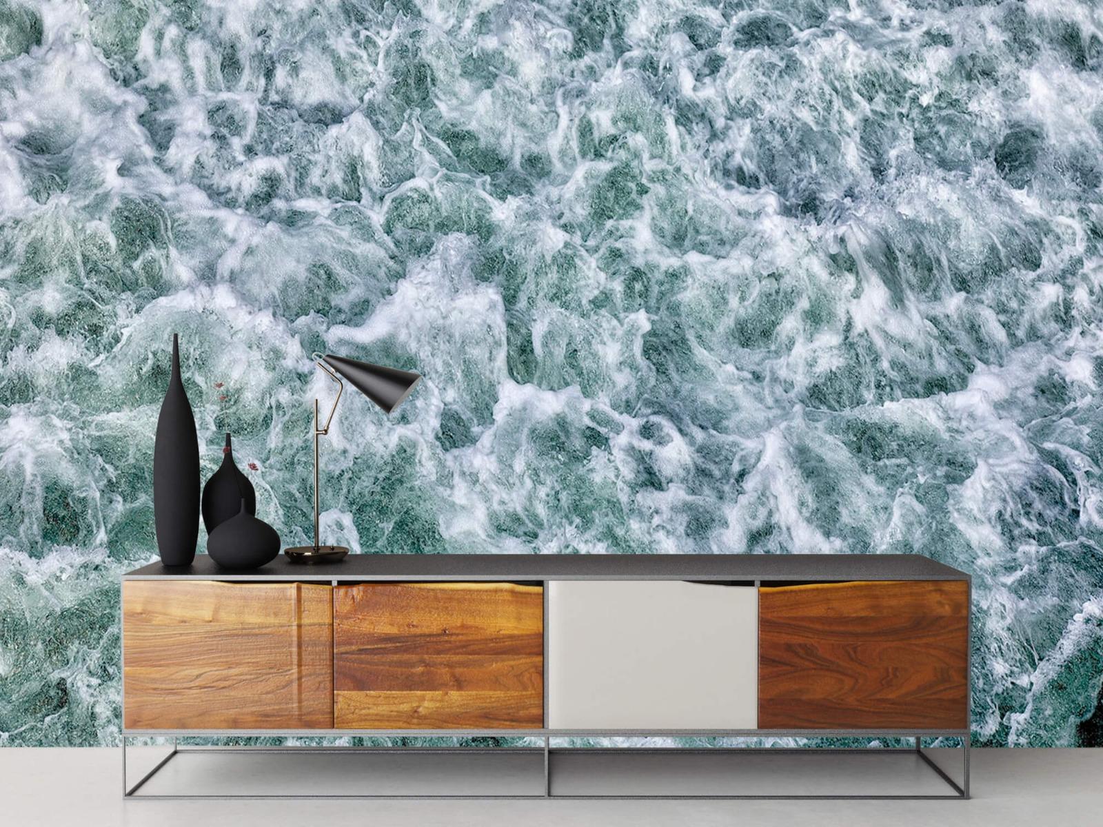 Zeeën en Oceanen - Wild kolkend water - Keuken 16