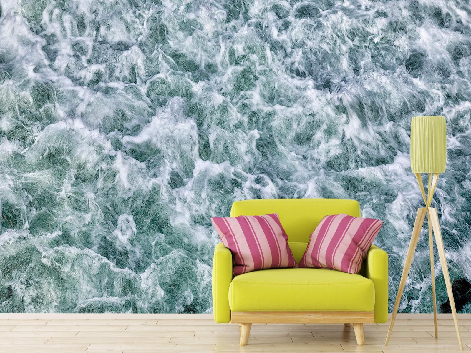 Zeeën en Oceanen - Wild kolkend water - Keuken 17