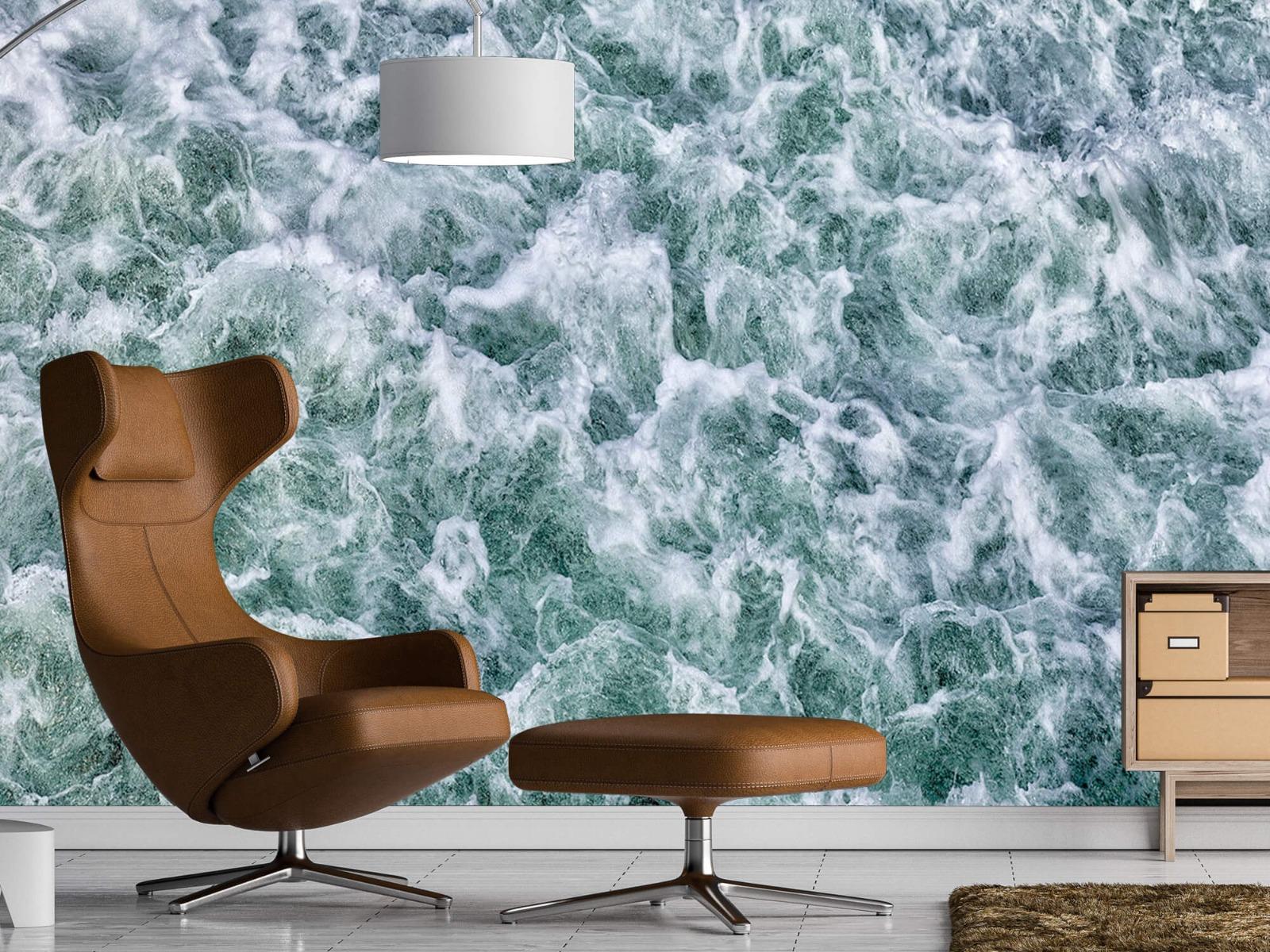 Zeeën en Oceanen - Wild kolkend water - Keuken 19