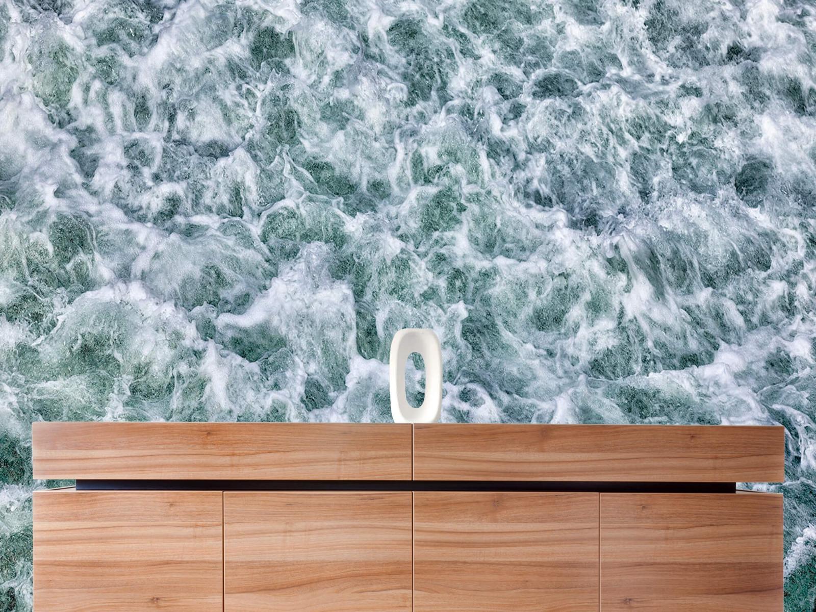 Zeeën en Oceanen - Wild kolkend water - Keuken 20
