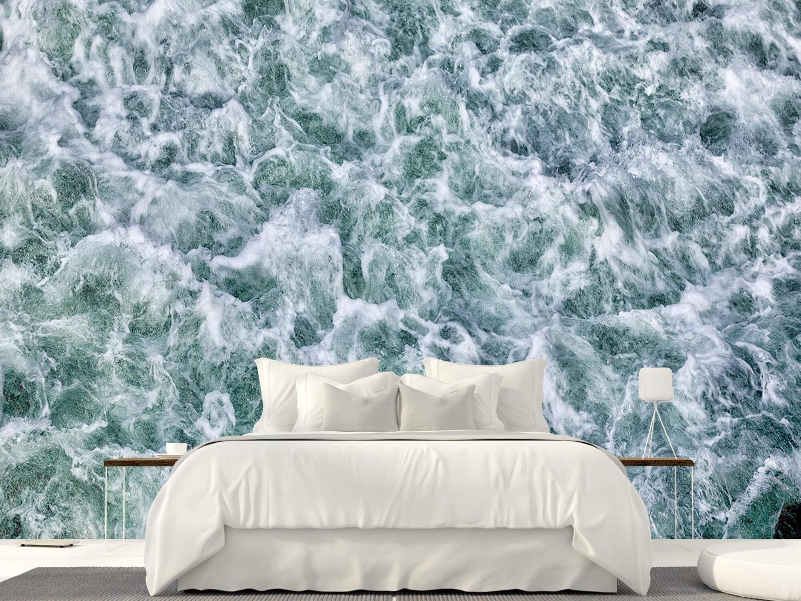 Zeeën en Oceanen - Wild kolkend water - Keuken 22