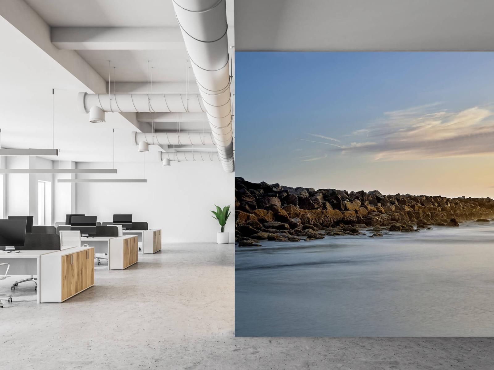 Landschap - Grote stenen aan het strand - Slaapkamer 21