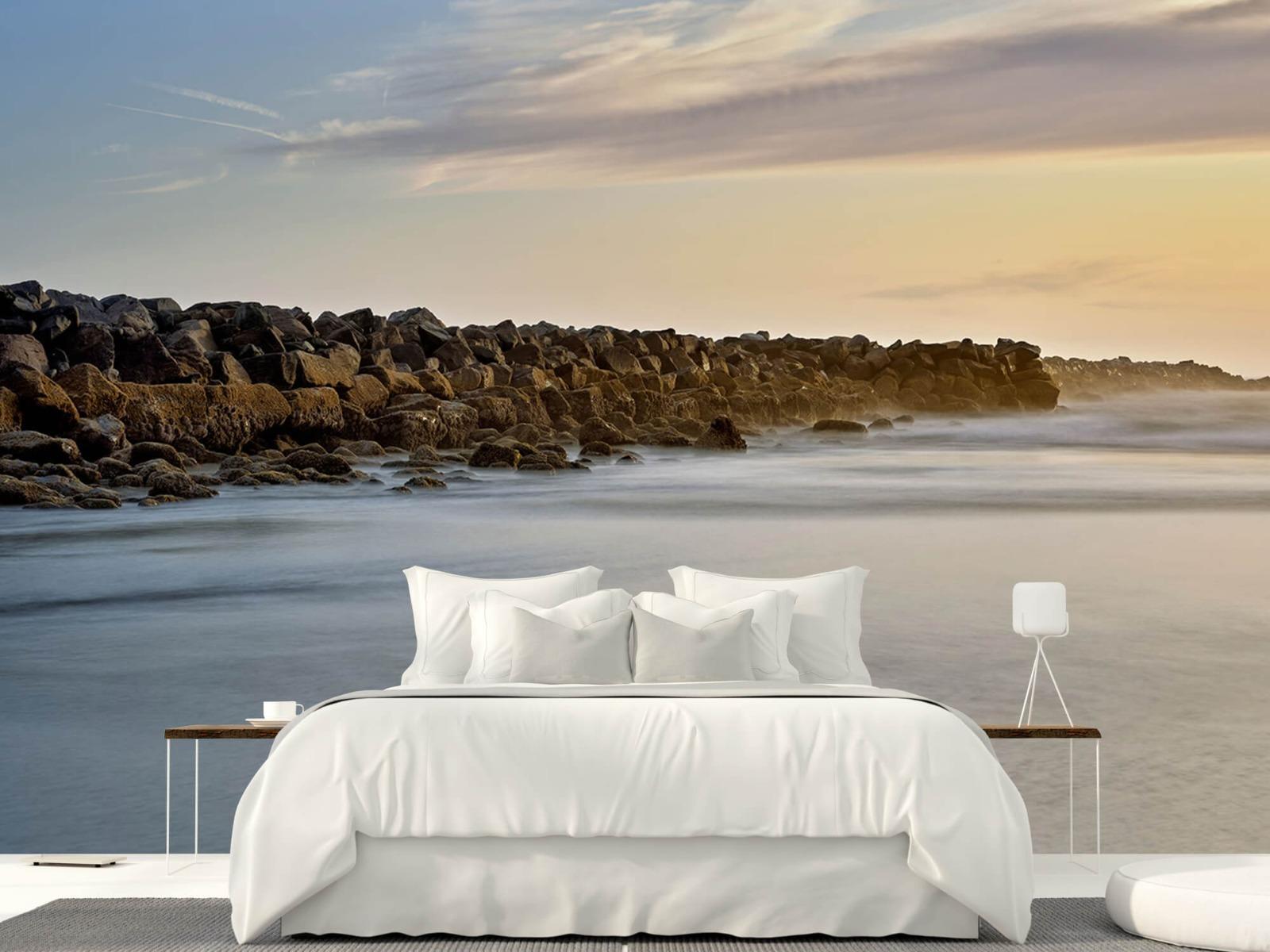 Landschap - Grote stenen aan het strand - Slaapkamer 22