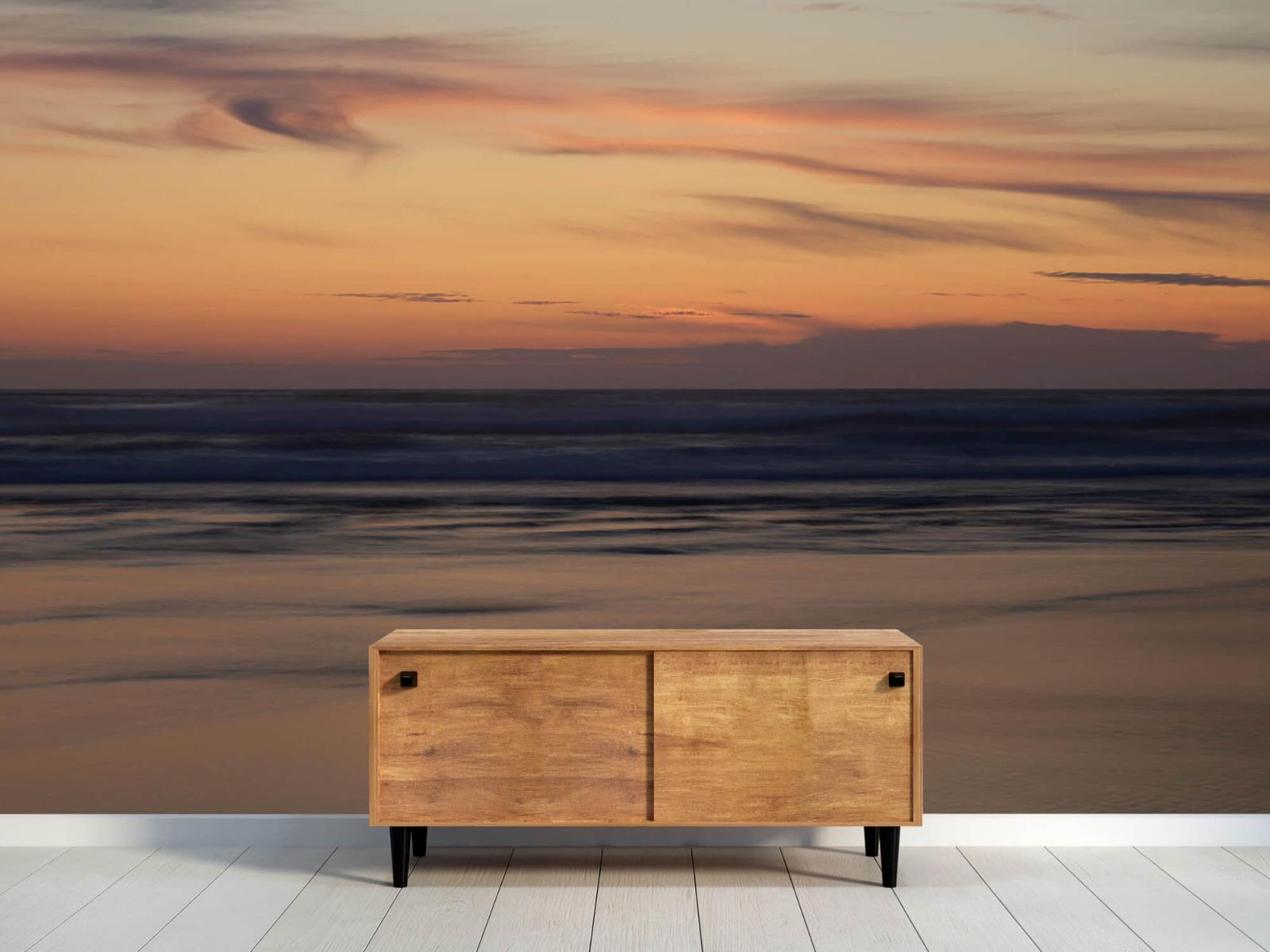 Zeeën en Oceanen - Zonsondergang aan de kust - Slaapkamer 9
