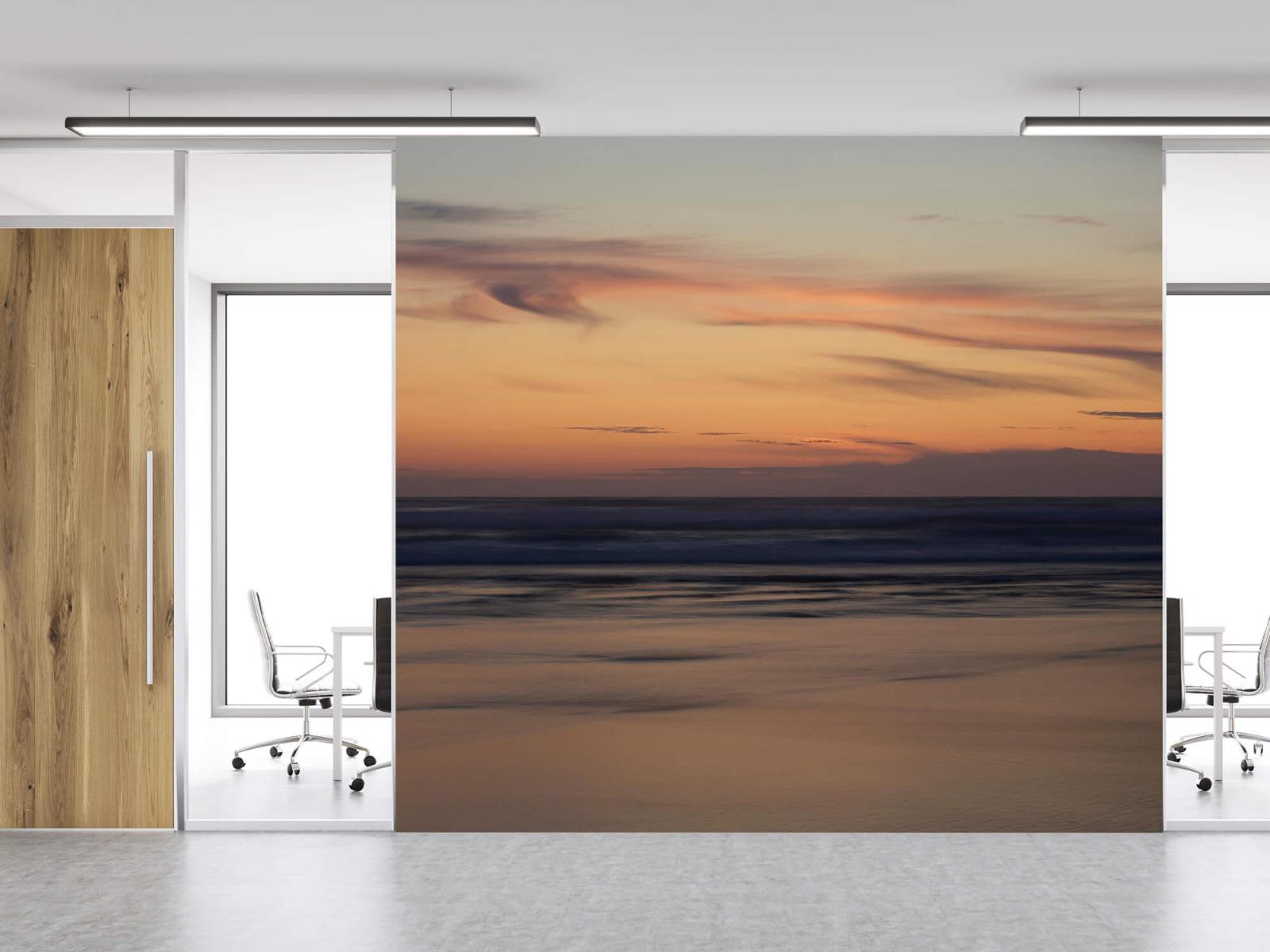Zeeën en Oceanen - Zonsondergang aan de kust - Slaapkamer 11