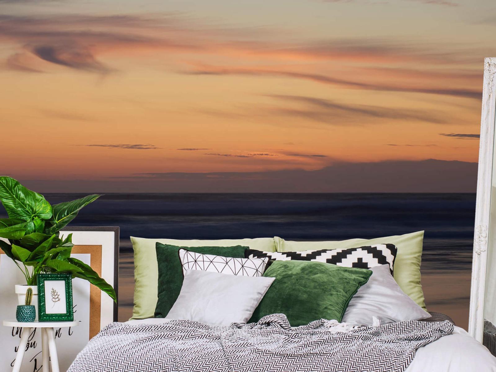 Zeeën en Oceanen - Zonsondergang aan de kust - Slaapkamer 12