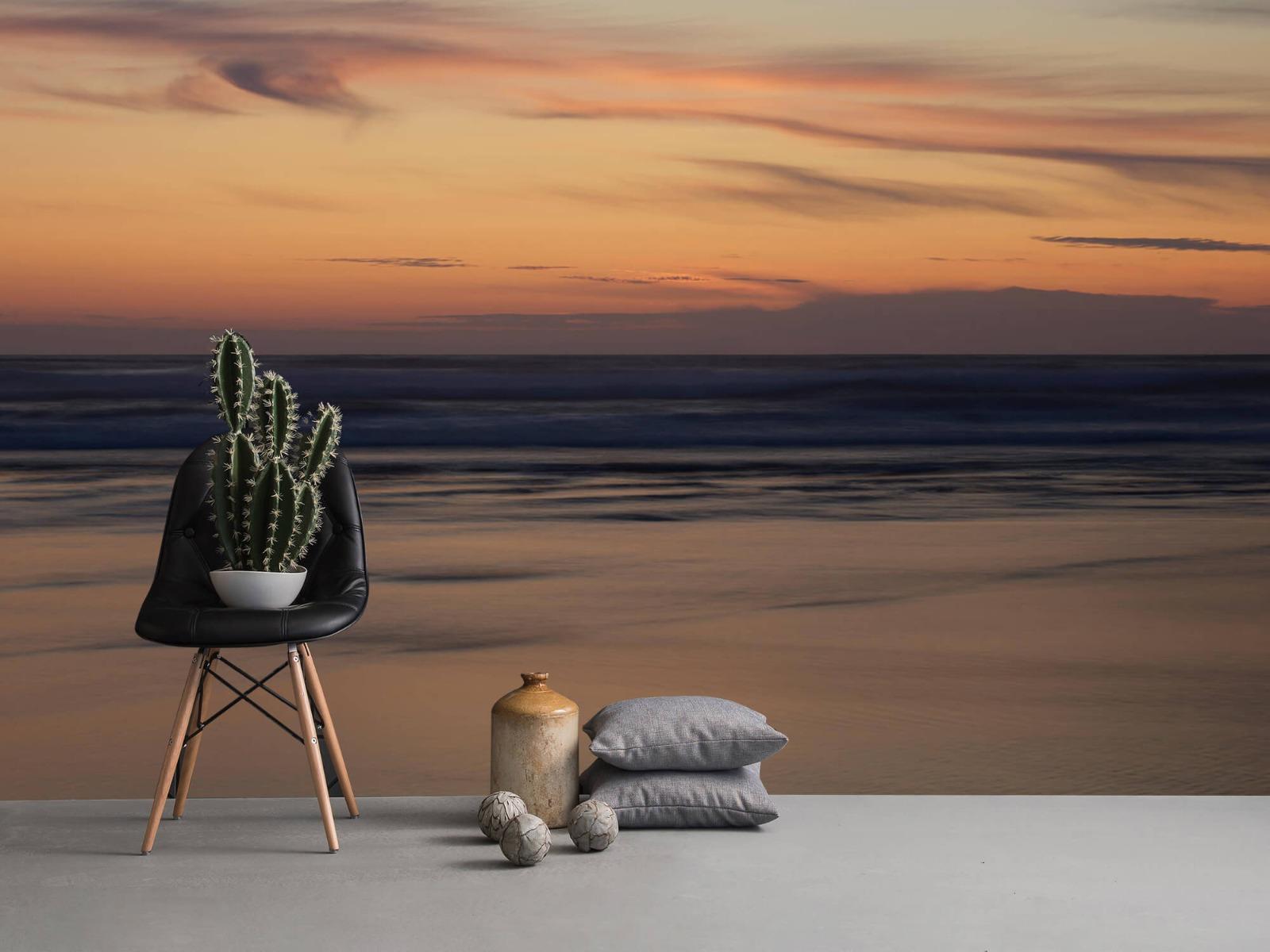 Zeeën en Oceanen - Zonsondergang aan de kust - Slaapkamer 13