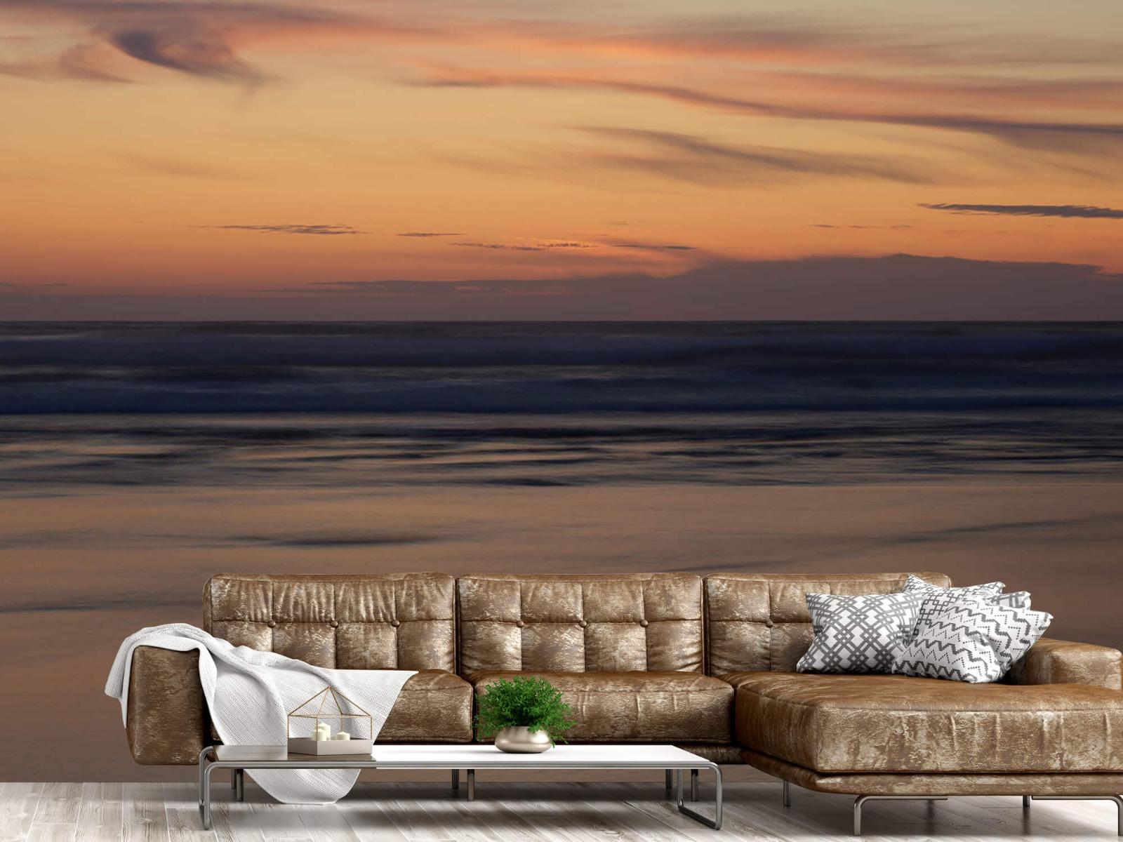 Zeeën en Oceanen - Zonsondergang aan de kust - Slaapkamer 14