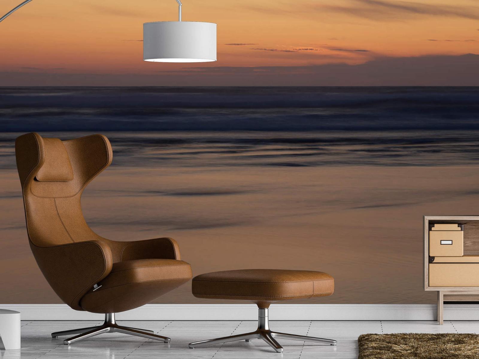 Zeeën en Oceanen - Zonsondergang aan de kust - Slaapkamer 19
