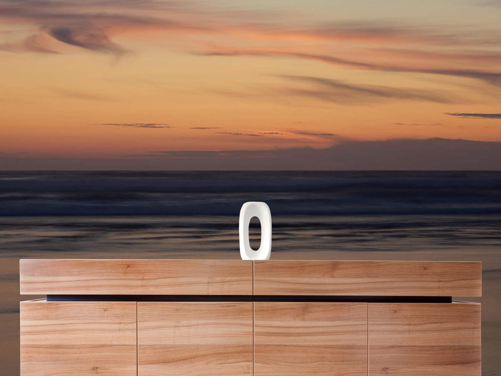 Zeeën en Oceanen - Zonsondergang aan de kust - Slaapkamer 20