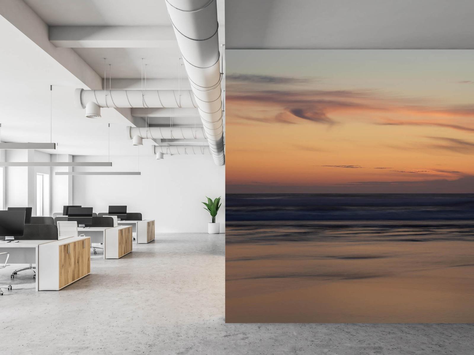 Zeeën en Oceanen - Zonsondergang aan de kust - Slaapkamer 21