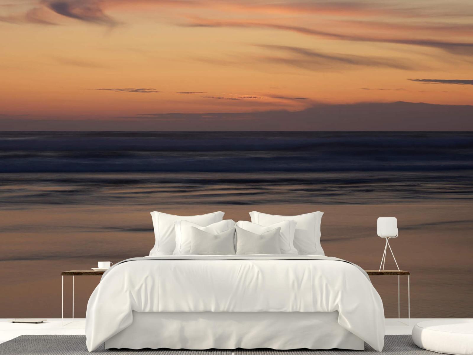 Zeeën en Oceanen - Zonsondergang aan de kust - Slaapkamer 22